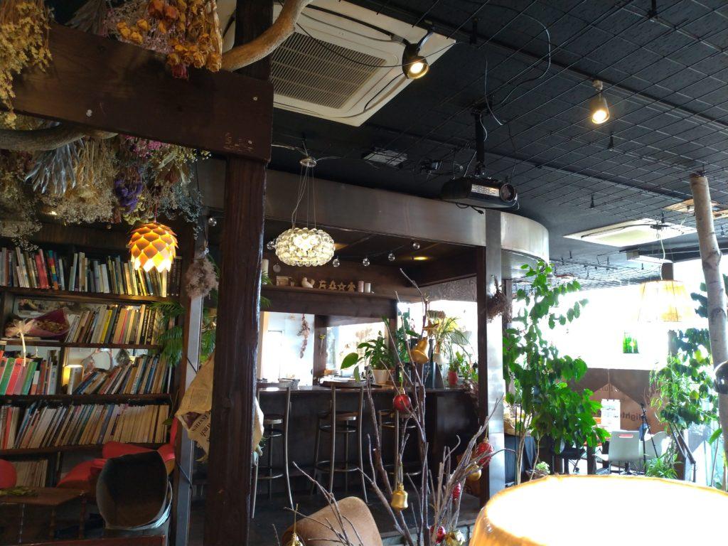 森のルーチェ店内